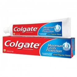 Cavity Protection - Dentifrice Colgate sur Couches Poupon