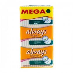 Simply Fits - 36 Serviettes hygiéniques d'Always taille normal plus sur Couches Poupon