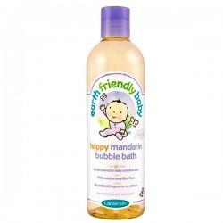 Bain moussant EFB - Earth Friendly Baby Bio Mandarine sur Couches Poupon