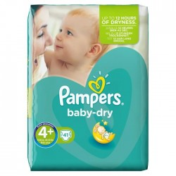 Baby Dry - 41 Couches de Pampers taille 4+