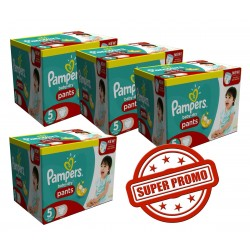 Baby Dry Pants - 114 Couches Pampers 6
