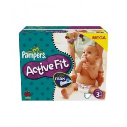 Active Fit - 360 Couches Pampers taille 3