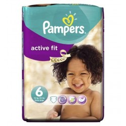 Active Fit - 31 Couches Pampers taille 6