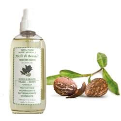 Huile de beauté au Karité 100% pure et végétale sur Couches Poupon