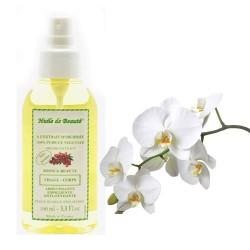 Huile de beauté à l'extrait d'orchidée 100% pur et végétal sur Couches Poupon