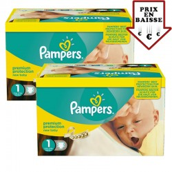 Pampers - 345 Couches New Baby taille 1
