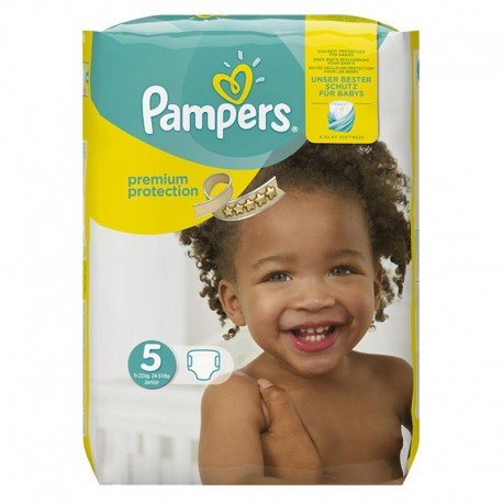 Pampers - Pack 68 Couches Premium Protection - New Baby taille 5 sur Couches Poupon