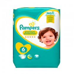 Pampers - Pack 31 Couches Premium Protection - New Baby taille 6