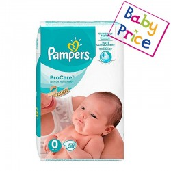 Pampers - Pack 38 Couches ProCare Premium protection taille 0