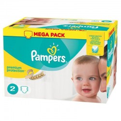Pampers - Pack 240 Couches New Baby - Premium Protection taille 2