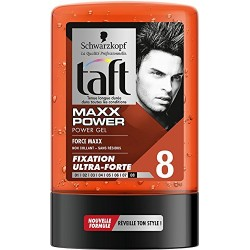 Taft Gel 300 ml Maxx Power N°8 sur Couches Poupon