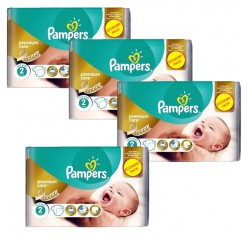Pampers - Maxi Pack 266 Couches New Baby - Premium Care taille 2