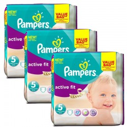 Giga Pack 141 couches Pampers Active Fit