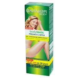 Garnier Bodytonic Gel 125 ml Concentre Amincissant sur Couches Poupon