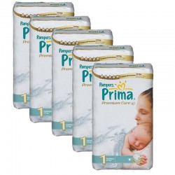 Giga Pack 154 couches Pampers Premium Care Prima sur Couches Poupon
