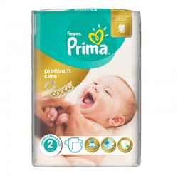 Pampers - Pack 22 Couches Premium Care - Prima taille 2 sur Couches Poupon