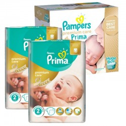 Pampers - Giga Pack 242 Couches Premium Care - Prima taille 2 sur Couches Poupon