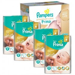 Mega Pack 440 couches Pampers Premium Care Prima sur Couches Poupon