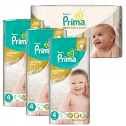 Pampers - Giga Pack 240 Couches Premium Care - Prima taille 4 sur Couches Poupon