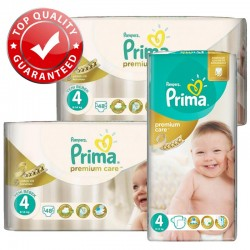 Pack Jumeaux 560 couches Pampers Premium Care Prima sur Couches Poupon