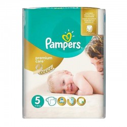 Pampers - Pack 26 Couches Premium Care - Prima taille 5 sur Couches Poupon