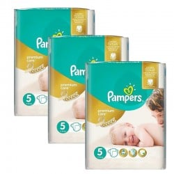 Pampers - Giga Pack 208 Couches Premium Care - Prima taille 5
