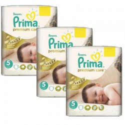 Pampers - Maxi Pack 378 Couches Premium Care - Prima taille 5