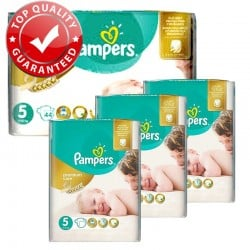 Giga Pack 180 Couches Pampers Premium Care Prima Taille 5 Junior (11-25 kg) sur Couches Poupon