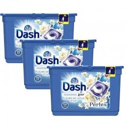 Pack 3 Dash Perles 19 Fleurs de Lotus & Lys 2en1 sur Couches Poupon