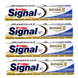 Signal - Lot 4 Dentifrices Integral 8 Complet sur Couches Poupon