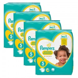 Maxi Giga Pack 240 couches Pampers New Baby Premium Protection