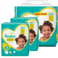 Pack Jumeaux 480 couches Pampers New Baby Premium Protection sur Couches Poupon