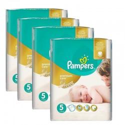 Maxi Giga Pack 240 Couches Pampers Premium Care Prima
