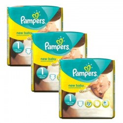Pack 69 couches Pampers New Baby Premium Protection sur Couches Poupon