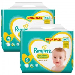 Pack 156 Couches Pampers New Baby Premium Protection