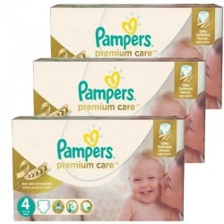 Maxi Giga Pack 420 Couches Pampers Premium Care Prima