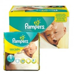 Pampers - Pack 96 Couches new baby - premium protection taille 1
