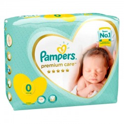Pack 30 Couches New Baby Premium Care sur Couches Poupon