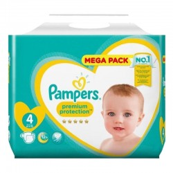 Pack 82 Couches Pampers New Baby Premium Protection sur Couches Poupon