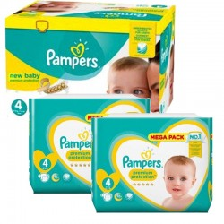 Giga Pack 328 couches Pampers New Baby Premium Protection