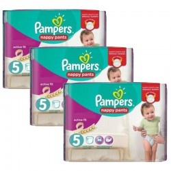 Giga Pack 120 couches Pampers Active Fit Pants