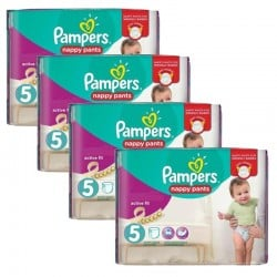 Giga Pack 160 couches Pampers Active Fit Pants