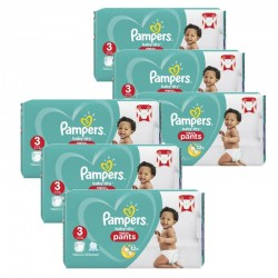 Pampers - Maxi giga pack 320 Couches Baby Dry Pants taille 3