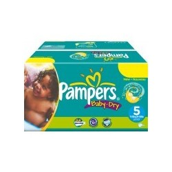 Pampers - Giga pack 216 Couches Baby Dry