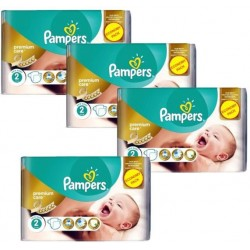 Pampers - 76 Couches New Baby Premium Care taille 2