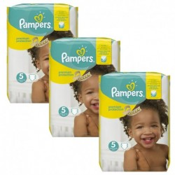 Pampers - Pack 90 Couches New Baby Premium Protection taille 5 sur Couches Poupon