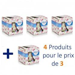Flower Bloom - 4 Bougies Parfumées Febreze - 4 au prix de 3 sur Couches Poupon
