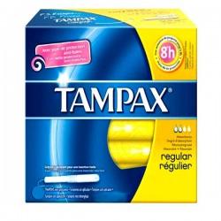 Classique - 20 Tampons Tampax taille regular avec applicateur sur Couches Poupon